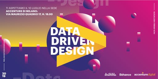 Dribbble Meetup@Accenture Milan | Data Driven Design
