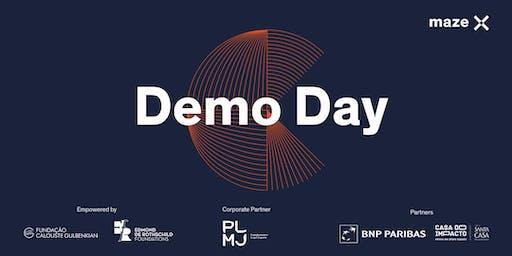 Demo Day Maze-X impact accelerator