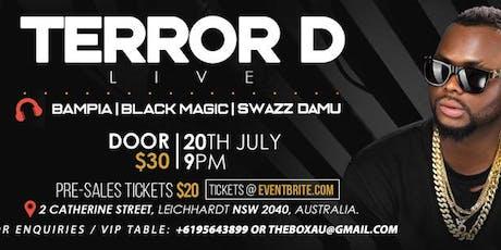 Terror D Special Edition  tickets