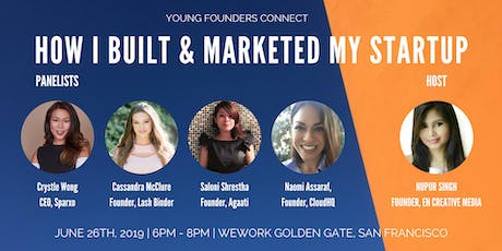How I Built And Marketed My Startup | 4 Founders Spill Their Secrets tickets