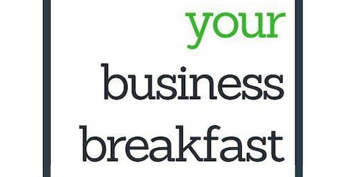 Your Business Breakfast @ Regus Sutton Harbour