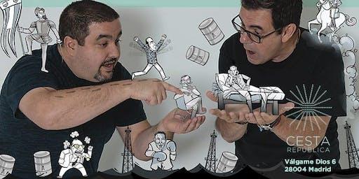 Encuentro con Laureano Márquez y Eduardo Sanabria