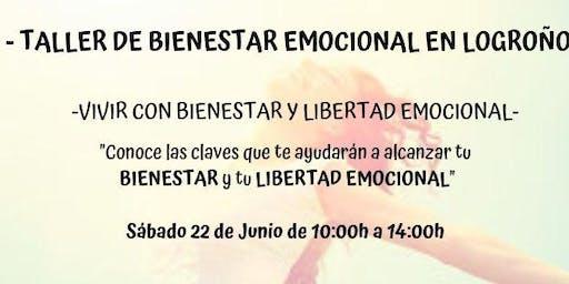 Taller Vivir con Bienestar y Libertad Emocional - Logroño