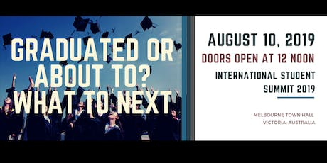 Graduated or About to? What to Next tickets