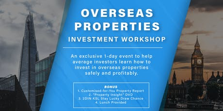 FREE 1-Day Property BOOSTER Investment Workshop - Opportunities Included! tickets