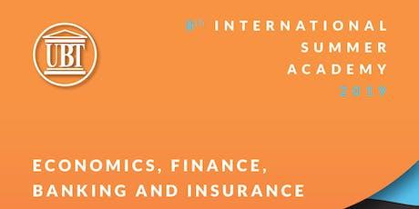 International Summer Academy 2019 - Economics, Finance, Banking & Insurance tickets