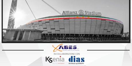 Abes srl,  Dias e ksenia vi portano allo stadio per un imperdibile meeting! biglietti