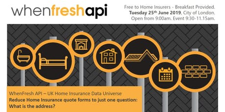 Reduce Home Insurance quote forms to just 1 question: What is the address? tickets