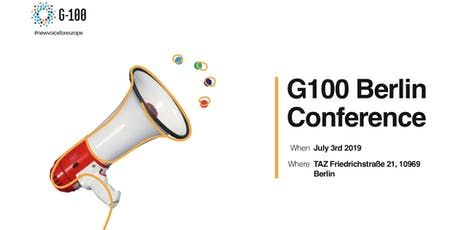 New Voices for Europe - G100 Conference tickets