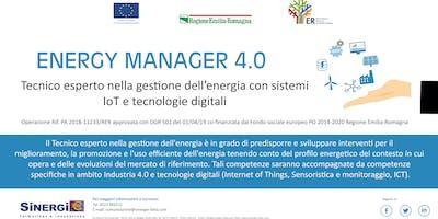 """Corso gratuito """"ENERGY MANAGER 4.0"""""""