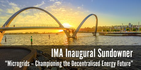 International Microgrid Association Inaugural Sundowner - 30 July 2019 tickets