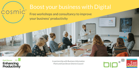 East Devon Enhancing Productivity: Digital Marketing Made Easy tickets