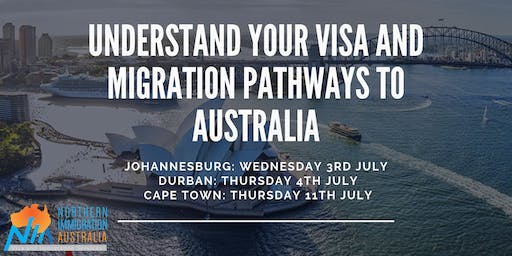 Understand your Visa and Migration pathways to Australia (Johannesburg)