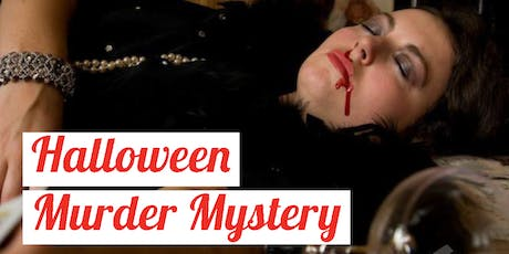 Halloween Murder Mystery Evening tickets
