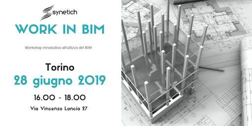 Work in BIM - Workshop introduttivo al BIM