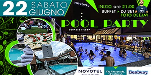Private Pool Party in un hotel 4 stelle