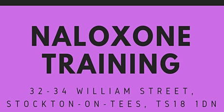 Naloxone training for professionals tickets