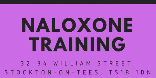 Naloxone training for professionals