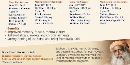 International Day of Yoga - Free