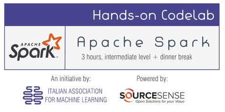 Machine Learning in Apache Spark (Codelab) biglietti