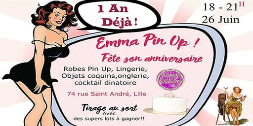 Emma Pin Up fête son anniversaire