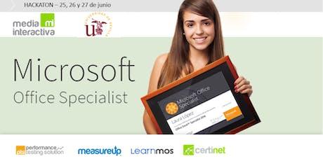 UNIVERSIDAD DE SEVILLA - I Jornada de Certificación en Competencias Digitales entradas