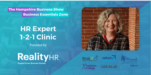 Hampshire Business Show Essentials: Free 1-to-1 HR Advice & Support