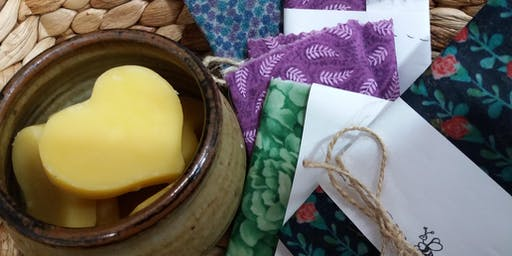 Bees wax wraps with Annette Boyd