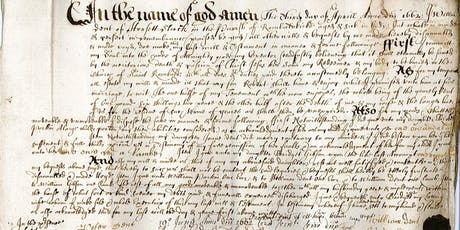 Palaeography - Reading old handwriting  tickets