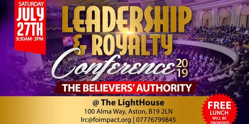 LEADERSHIP & ROYALTY CONFERENCE 2019