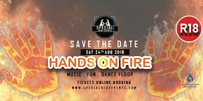 Special Deaf Events - Hands on fire