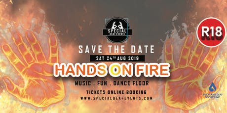 Special Deaf Events - Hands on fire tickets