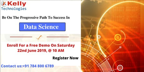 Free WorkShop Session On Data science at kelly technologies in Bangalore tickets