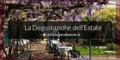 LA DEGUSTAZIONE DELL'ESTATE: il 15 luglio all'Osteria Grand Hotel di Milano biglietti