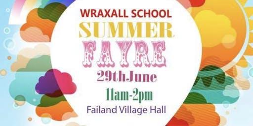 Wraxall School Summer Fayre