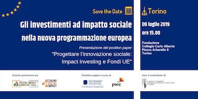 Gli investimenti ad Impatto sociale nella nuova programmazione europea