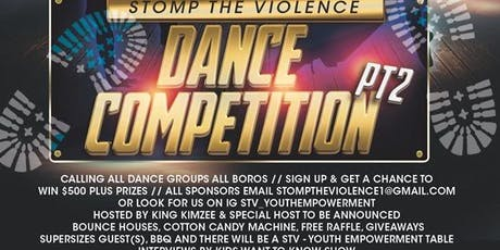 Stomp the violence dance competition pt 2  tickets