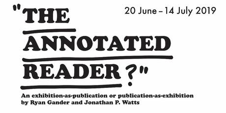 Preview and Book Launch: The Annotated Reader tickets