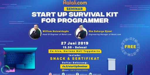Start Up Survival Kit for Programmer
