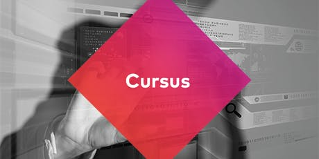 Cursus online redactie: meer doen met je data  tickets