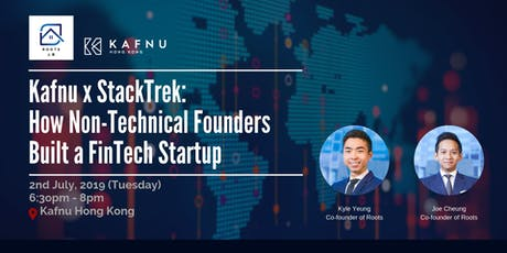 Kafnu x StackTrek – How Non-Technical Founders Built a FinTech Startup tickets