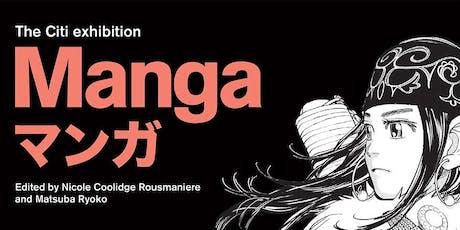LGNN visits The Citi exhibition Manga tickets