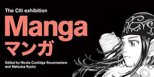 LGNN visits The Citi exhibition Manga