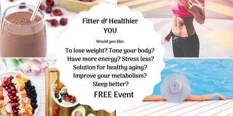 Fitter & Healthier you for Life tickets