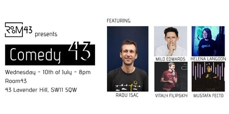 Comedy 43 - 10th of July tickets