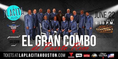Concierto El Gran Combo de Puerto Rico | La Placita Houston tickets