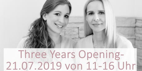 Three Year Opening - Tag der offenen Tür Tickets
