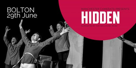 Hidden by Louise Wallwein (Dementia Voices Project) - Bolton tickets