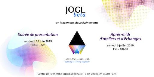 La soirée de lancement de JOGLbeta par Just One Giant Lab