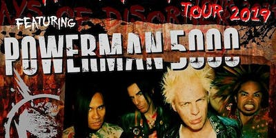 Powerman5000 with (hed)p.e. & Adema - A 175 Concert Experience!